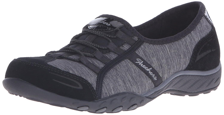 Skechers Sport Women's Good Life Fashion Sneaker B01B64CXR6 6 B(M) US|Black Suede/Charcoal