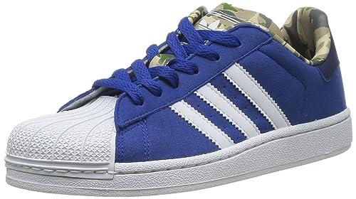 adidas Superstar 2.0 J Sneaker, Bambino, Blu (Collegiate Royal/Running White Ftw