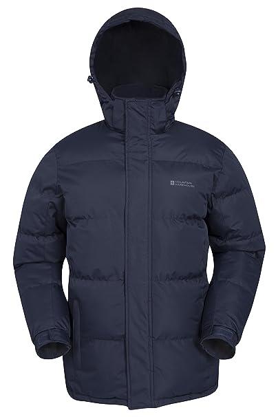 9f5bb730256 Mountain Warehouse Snow Mens Jacket - Water Resistant Raincoat ...