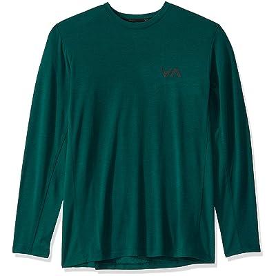 RVCA Men's Va Vent Long Sleeve Top: Clothing