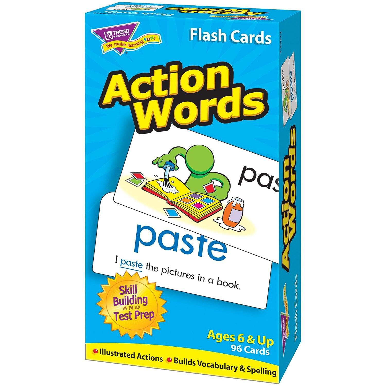 TREND UNTERNEHMEN T-Flash-Karten 53013 ACTION WORDS-96//BOX