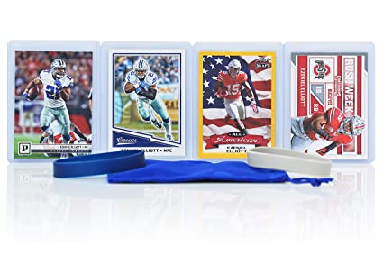 size 40 1f0bc d0098 Ezekiel Elliott (2) Assorted Football Cards Bundle - Ohio State Buckeyes  Trading Cards