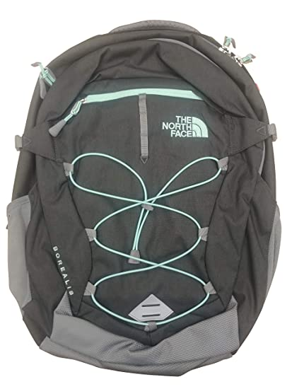 The North Face Women Borealis Backpack (Zinc Grey Light Heather Surf Green) 4bfbb66a19598