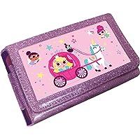 Princess Unicorn Animated 3D Pink Glitter Case (Nintendo
