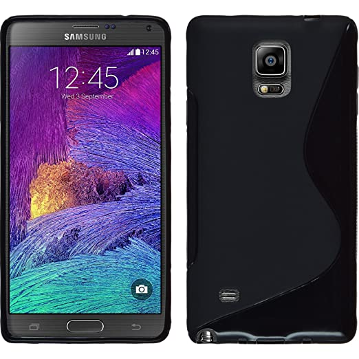 20 opinioni per PhoneNatic Custodia in Silicone per Samsung Galaxy Note 4- S, Nero
