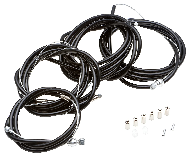 Schwinn SW76193-4 Brake and Derailleur Cable Repair Set, Black