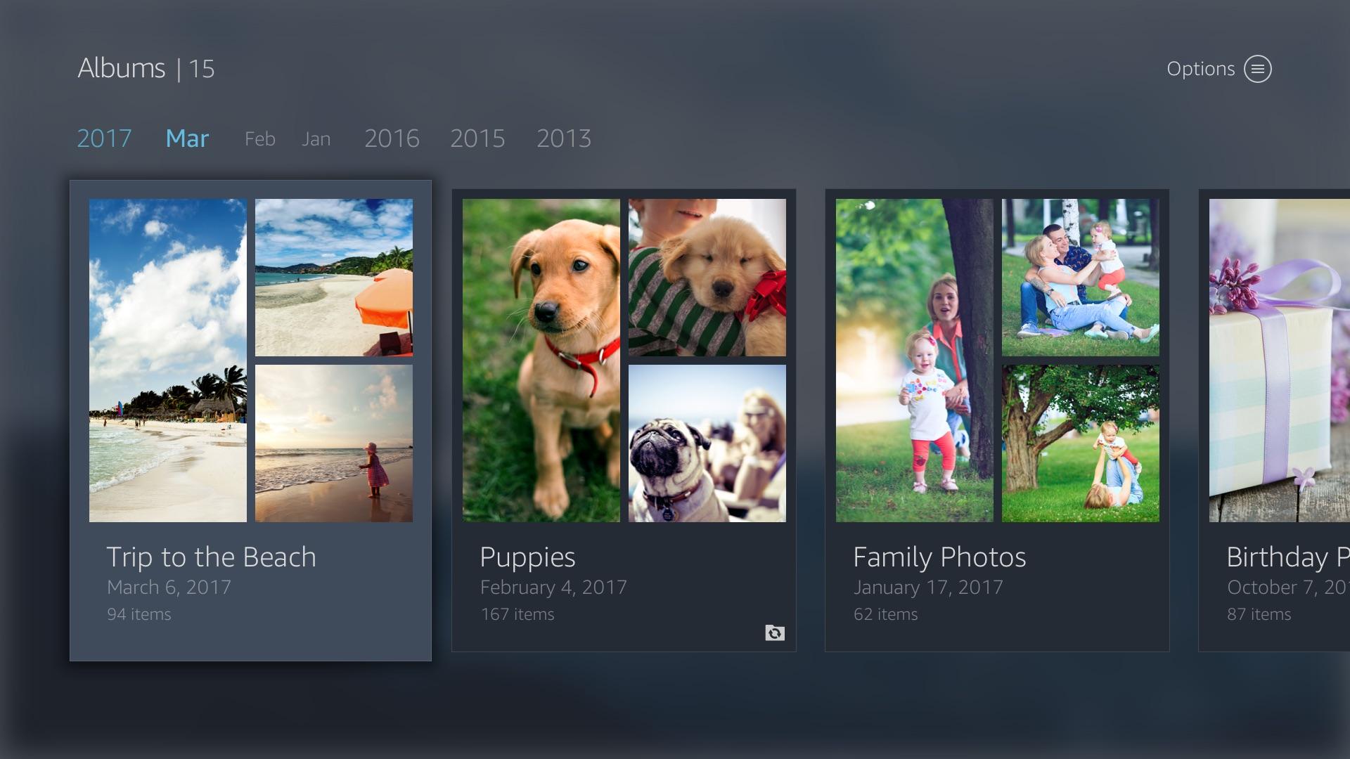 Apple tv photo app