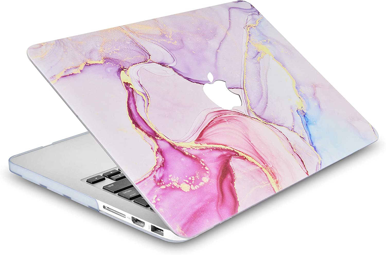 Sleeve Pastel Marble Keyboard Cover /& Screen Protector 2020//2019 A2141 Hard/Shell/Cover LuvCase 4in1 Laptop/Case for MacBook Pro 16 Touch Bar
