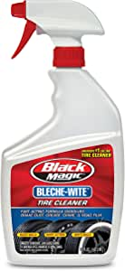 Black Magic 120066 Bleche-Wite Tire Cleaner, 32 oz.