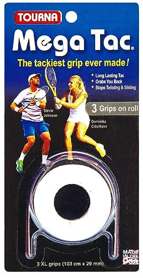 Unique Overgrip Mega TAC 3er - Mango de Raqueta de Tenis, Color ...