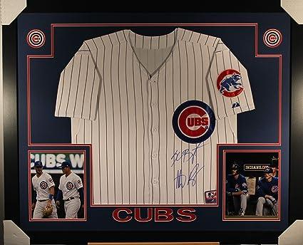 sale retailer d9566 92a1c Kris Bryant Anthony Rizzo Chicago Cubs Dual Signed Autograph ...