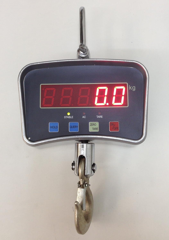 デジタルクレーンスケール リモコン付 大型吊りはかり 1ton(1000kg/0.5kg) 246911-01 B00BM5WUGY   1トン