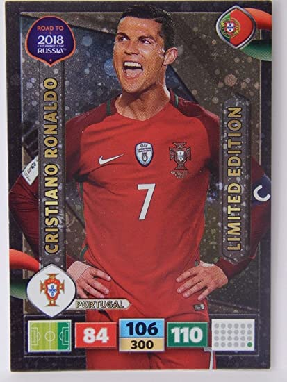 Road World Cup Russia 2018 Adrenalyn Starter Pack Limited Cards Panini