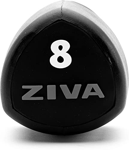 ZIVA SL Virgin Rubber Steel Tribell Studio Dumbbell