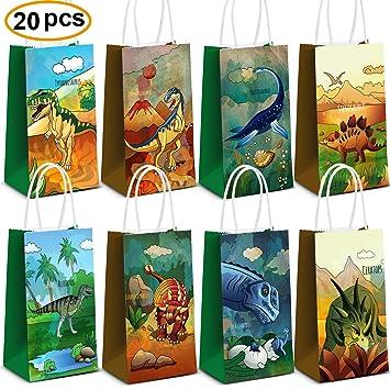Amazon.com: Dinosaur suministros para fiestas, bolsas de ...