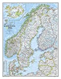 Scandinavia Classic, Laminated: Wall Maps Countries & Regions: NG.P622072 (National Geographic Reference Map)