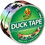 Duck Brand 283930 Printed Duct Tape, Sunset Strip, 1.88 Inches x 10 Yards, Single Roll