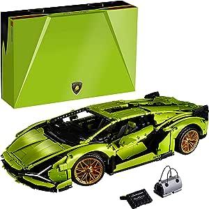 LEGO 42115 Technic Lamborghini Sián FKP 37 Race Car, Advanced Building Set for Adults, Exclusive Collectible Model