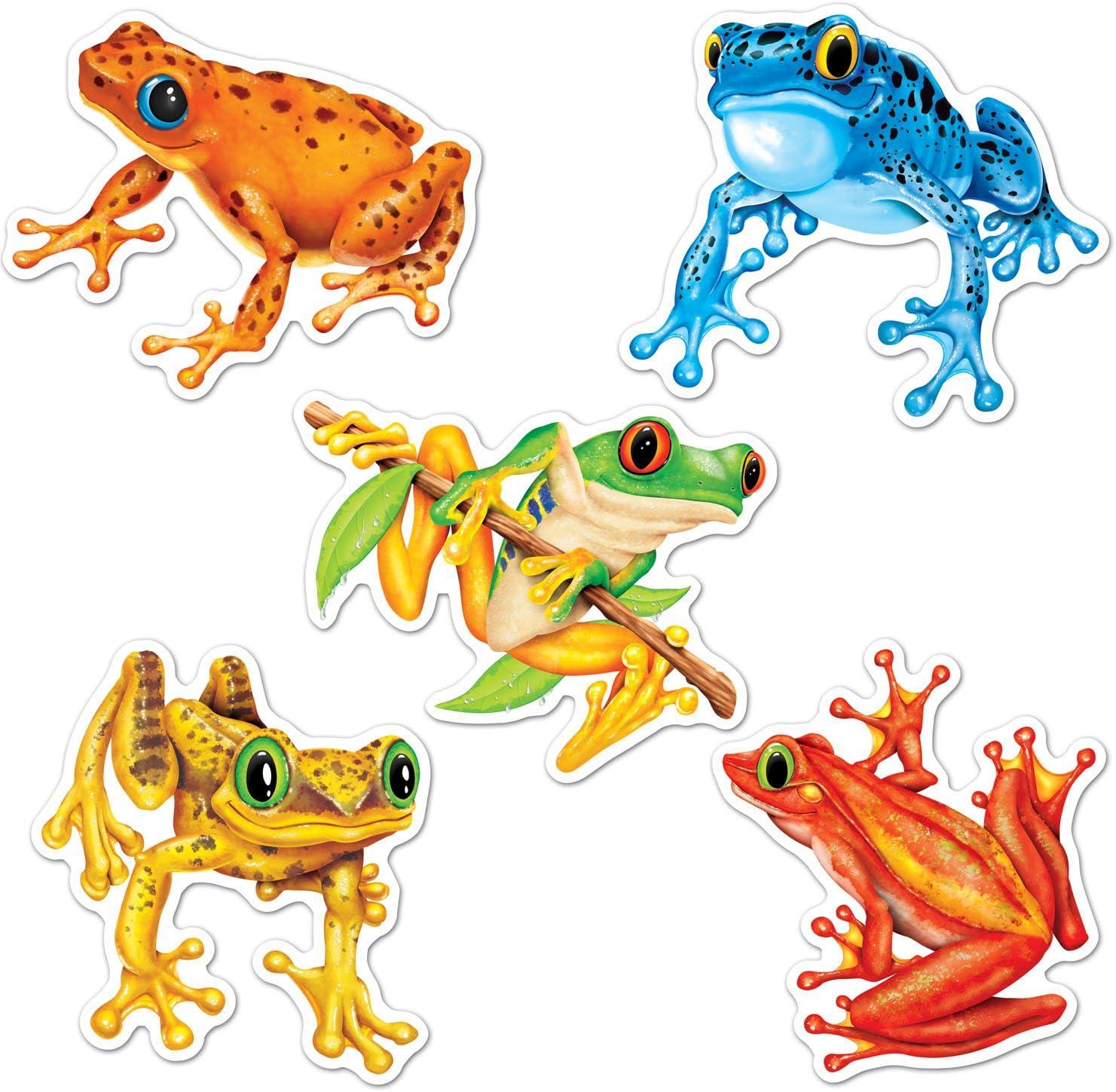 Mini Frog Cutouts (10/Pkg)