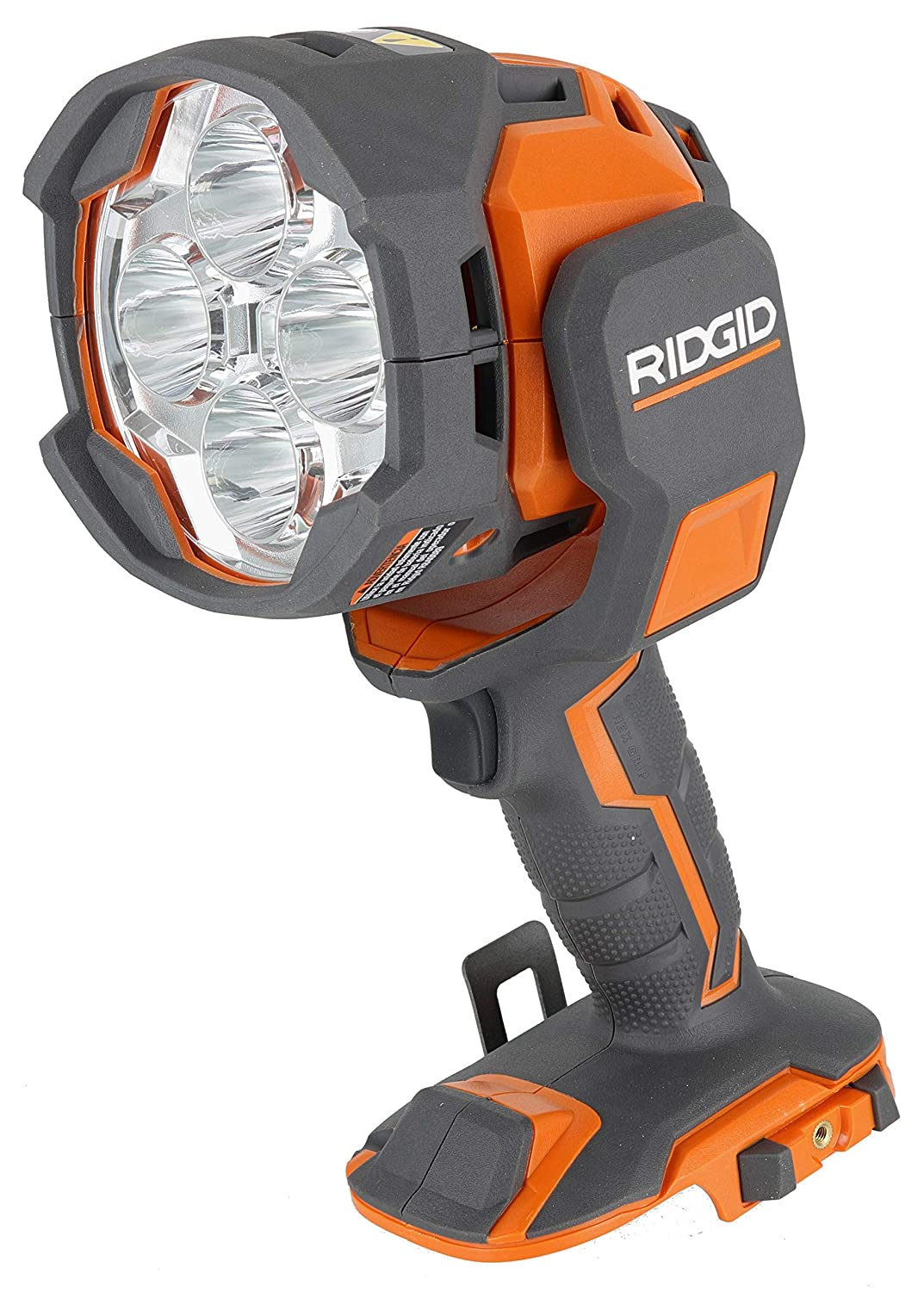 Ridgid R8694220B Gen5X 18V Lithium Ion Cordless Dual-Power 2,500 Lumen Spotlight (Battery Not Included / Tool and Car Adaptor Included)