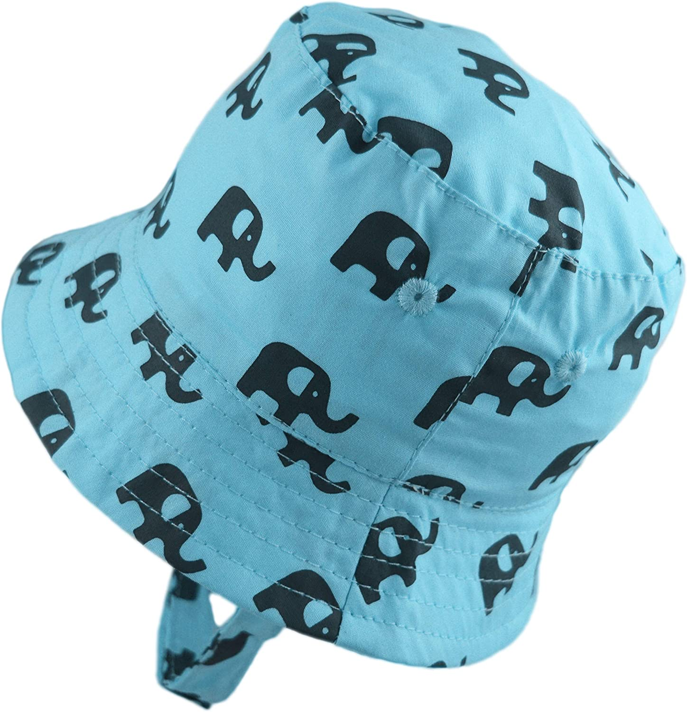 Pesci Baby Boys Bucket Hats Summer Sun Hat Cotton Elephant