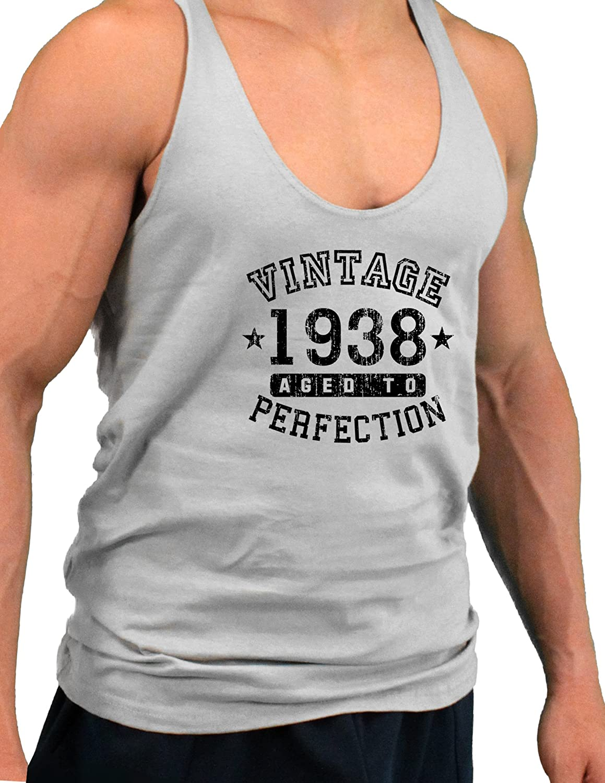 Vintage Birth Year Mens String Tank Top Brand TooLoud 1938