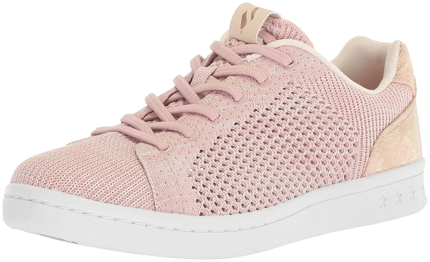 Skechers Women's Darma-Engineered Knit Bungee Sneaker B0742V7CDH 9 B(M) US|Light Pink