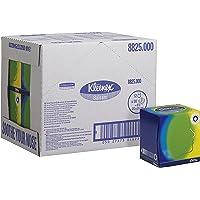 Kleenex 8825 Cubo Veline Facciali, 12 Cubi x 56 Fogli a 3 Veli, Colore Bianco