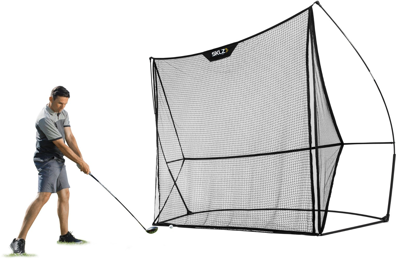 SKLZ Dual Net - 8.5' x 8.5' Premium and Durable Golf Training Net. by SKLZ (Image #1)