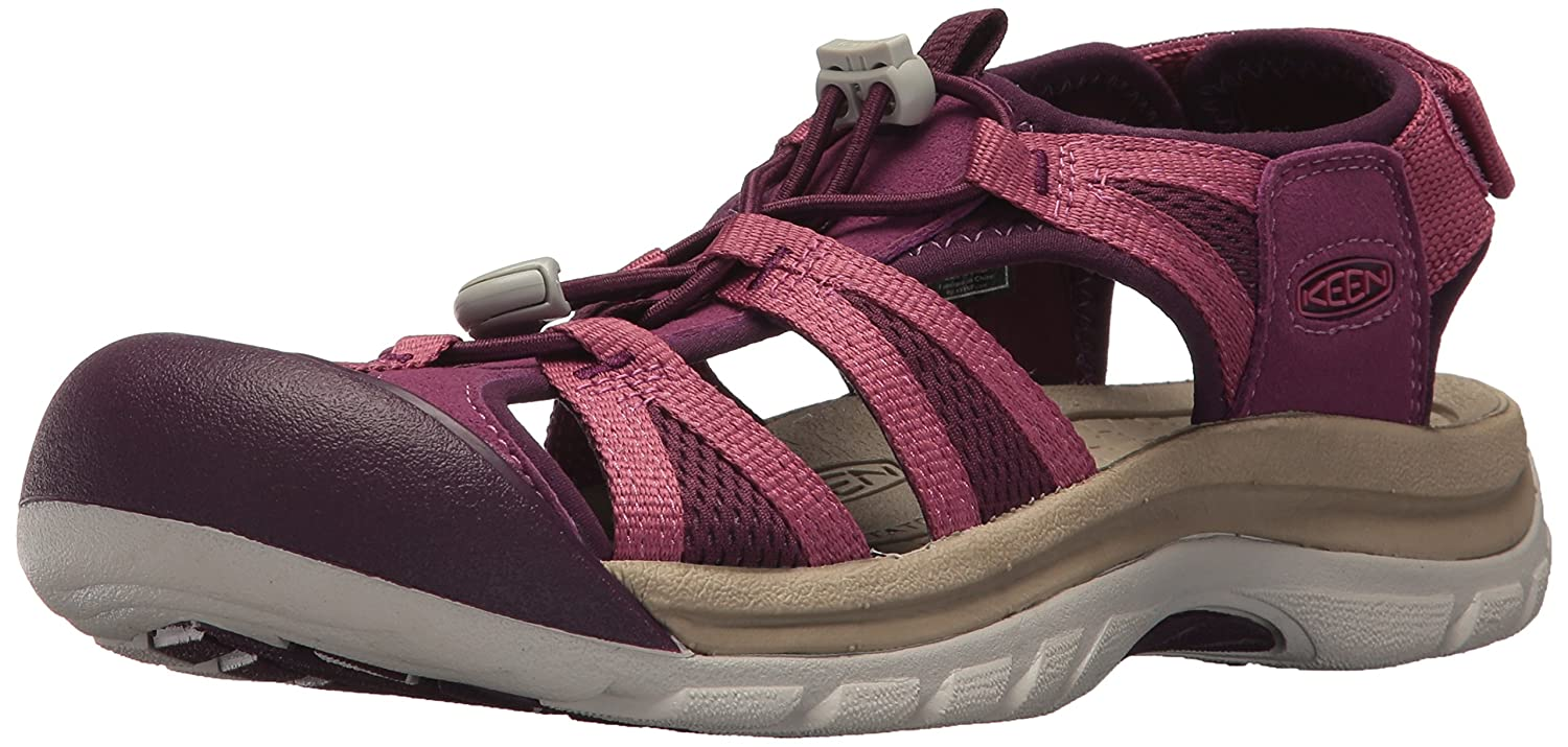 KEEN Women's Venice II H2-W Sandal B071CL11TP 10.5 B(M) US|Grape Kiss/Red Violet