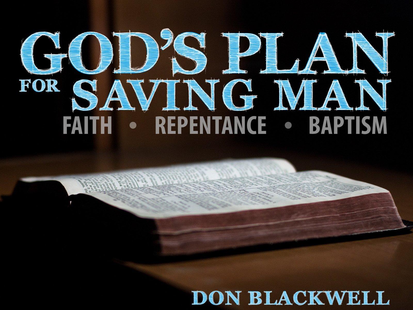 God's Plan for Saving Man on Amazon Prime Video UK