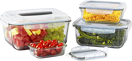 3pc Assorted Size Plastic BPA Free Oval Food Container Storage Box Tub Lunch Set