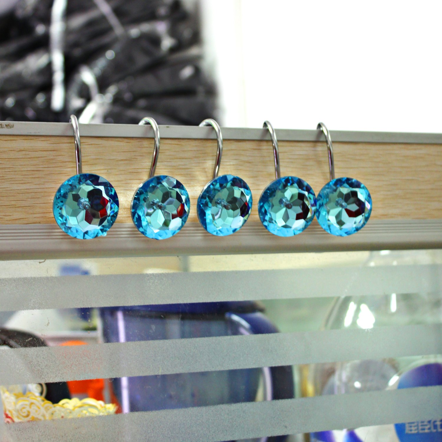 Best Rated in Decorative Shower Curtain Hooks & Helpful Customer ...