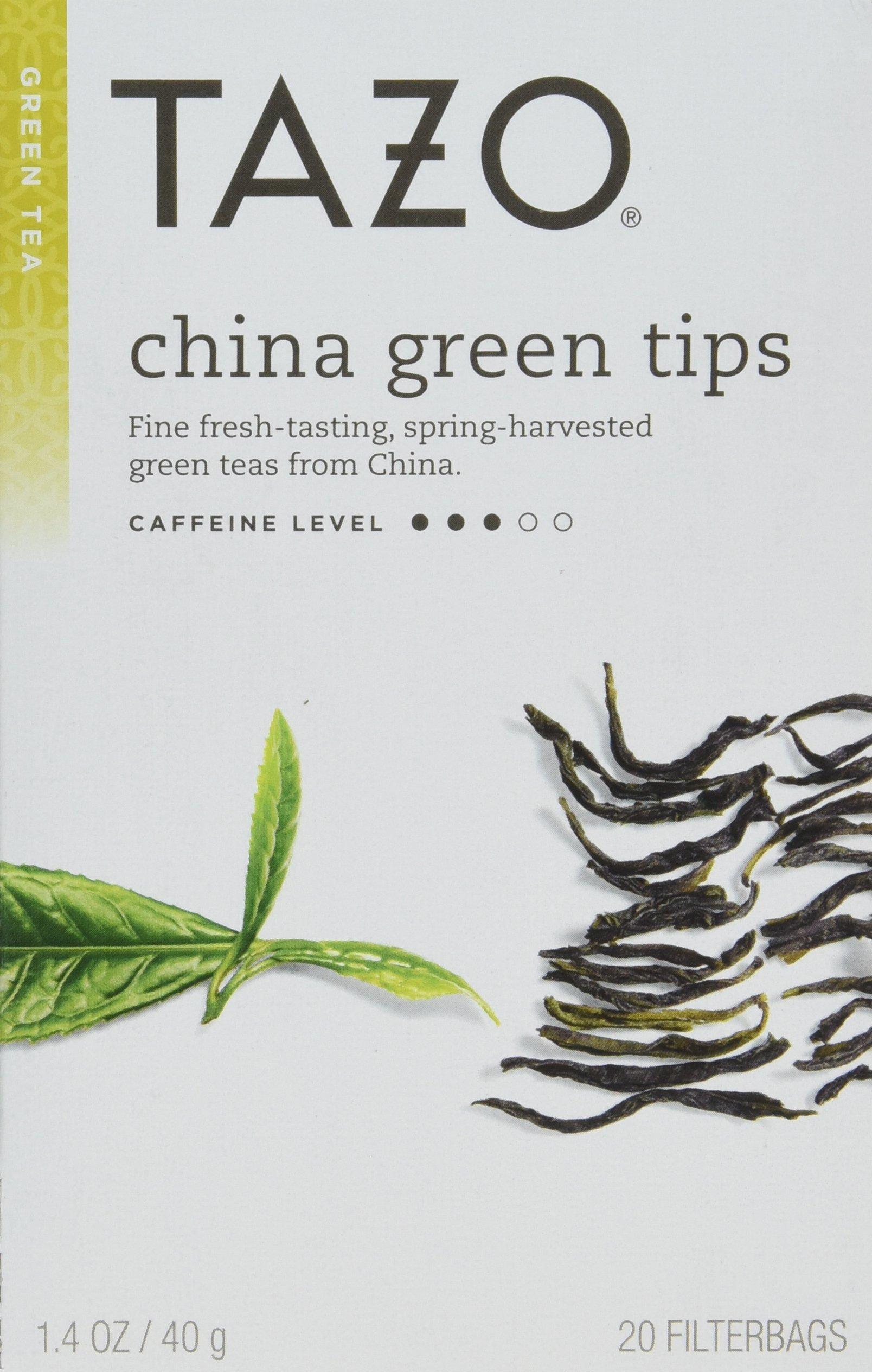 Tazo China Tips Green Tea - 6 per case.
