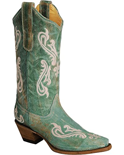 Embroidery  CORRAL Damens's Cleff Embroidery  Western Stiefel   Stiefel 7572a2