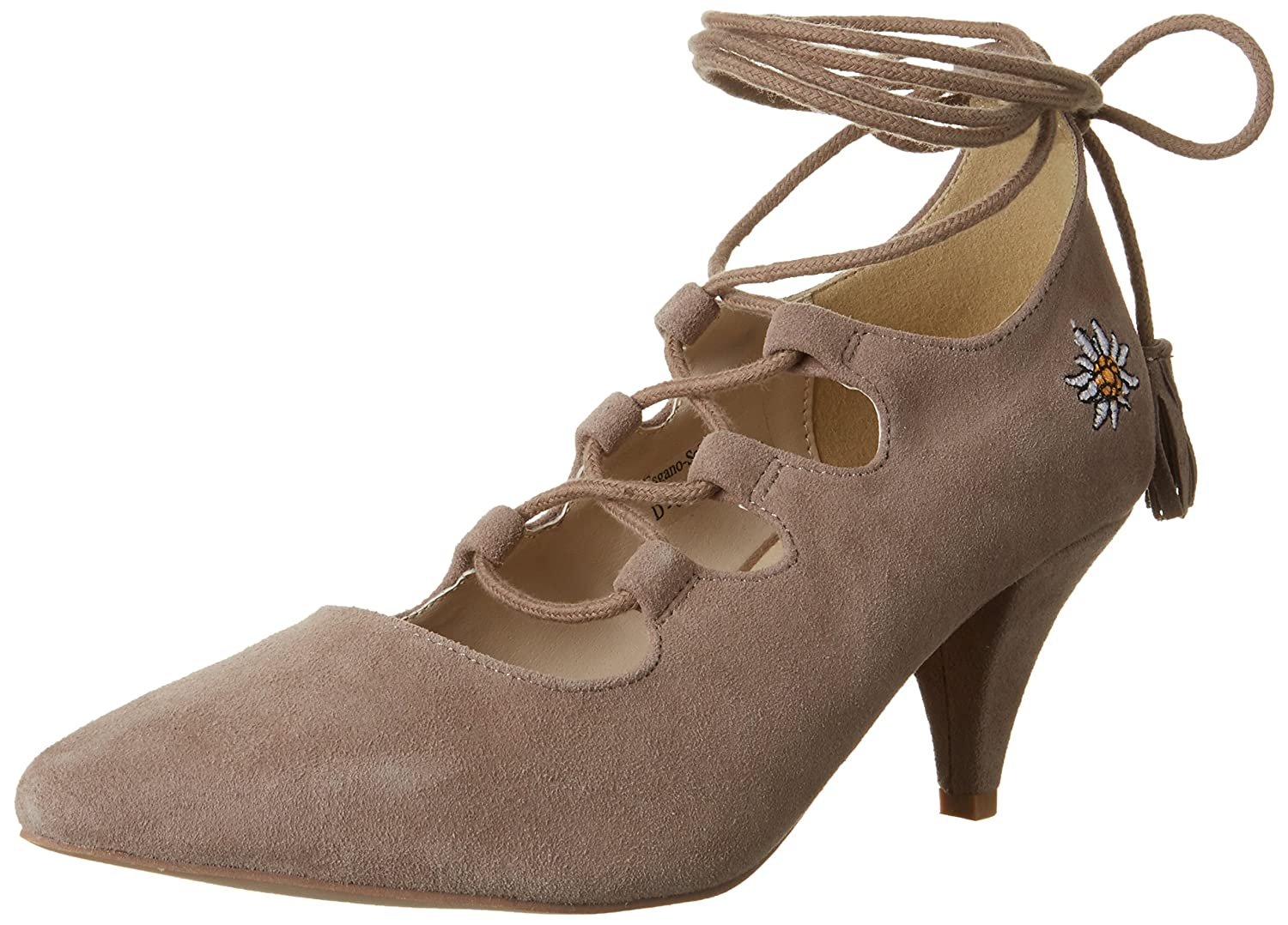 HIRSCHKOGEL Damen 3003422 Pumps Grau Grau Pumps (Taupe) 660d9f
