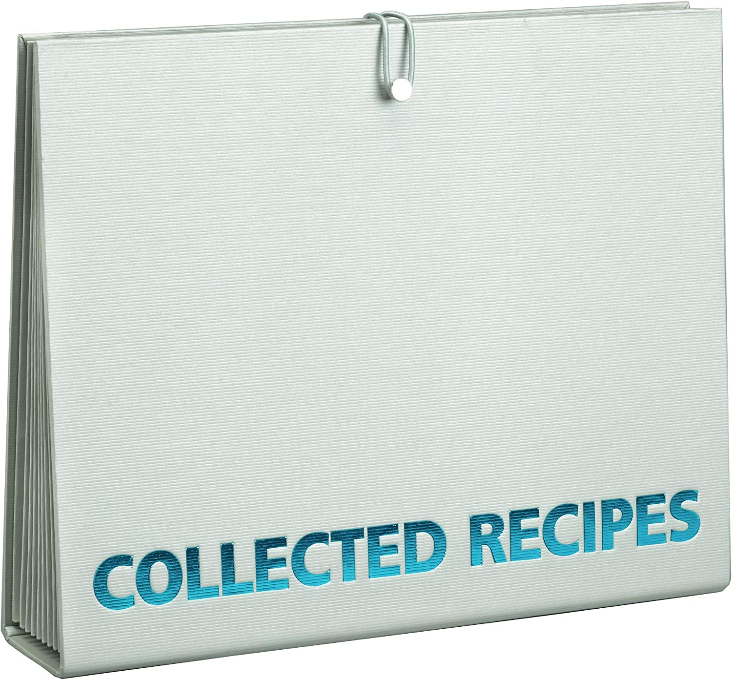 Turquoise Gray Meadowsweet Kitchens Accordion File Recipe Organizer Kitchen Accessories Kolenik Kitchen Dining