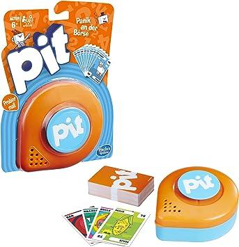 Hasbro Pit Juego Educativo Niños - Juego de Tablero (Juego Educativo, Niños, Niño/niña, 6 año(s), 74 Pieza(s), Ampolla): Amazon.es: Juguetes y juegos