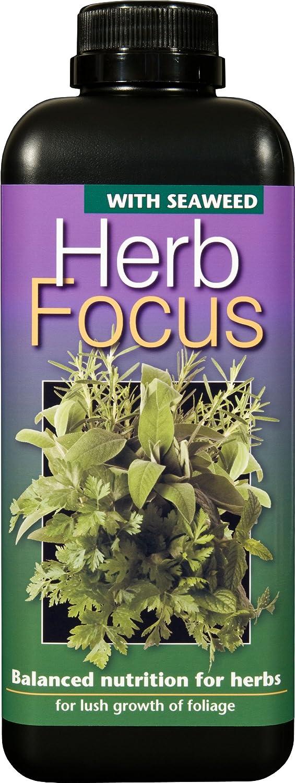 Herb Focus Liquid Concentrated Fertiliser 1 Litre Growth Technology Ltd GTHF1