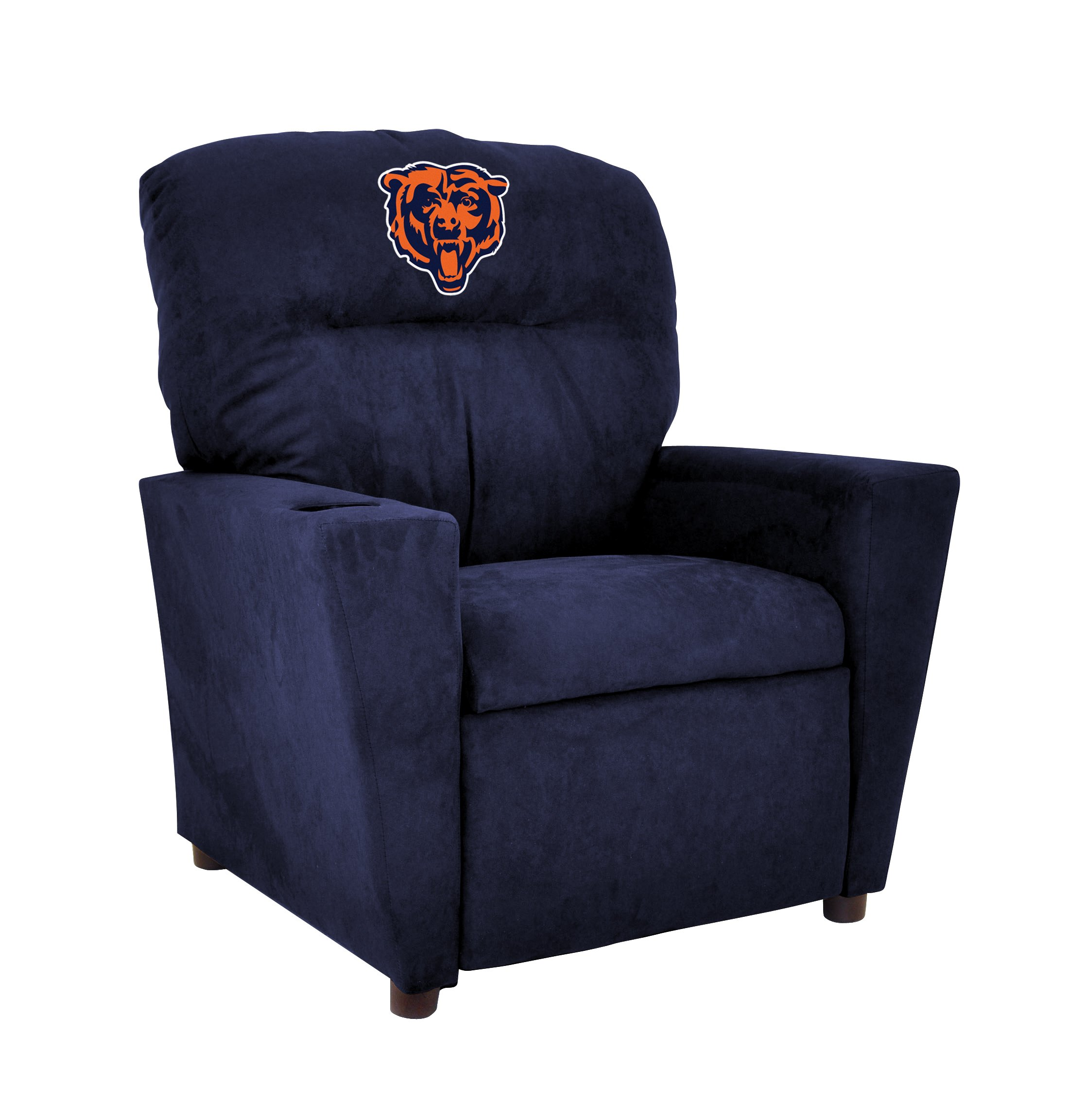 Imperial Officially Licensed NFL Furniture: Youth Microfiber Recliner, Chicago Bears