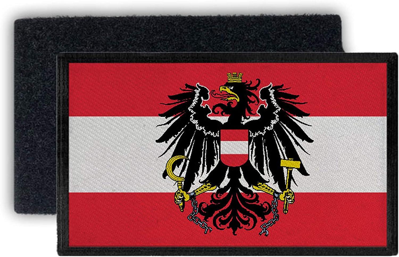 Copytec Flagge Österreich Alpen Austria Bundesrepublik Innsbruck 12x7cm Patch 32735 Küche Haushalt