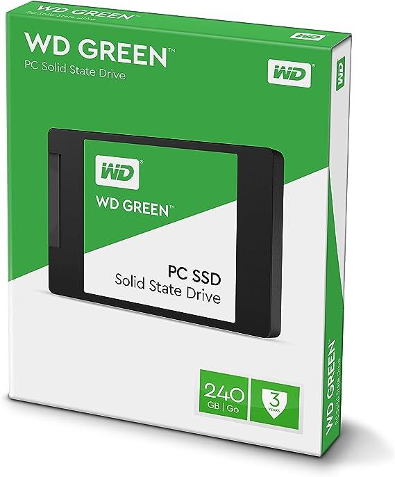 WD Green PC SSD - Disco Duro sólido de 240 GB (Serial ATA III, 0 ...