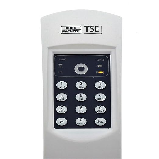Blanco Burg W/ächter TSE Set 4001 Home W Cerradura Electr/ónica Inal/ámbrica con C/ódigo
