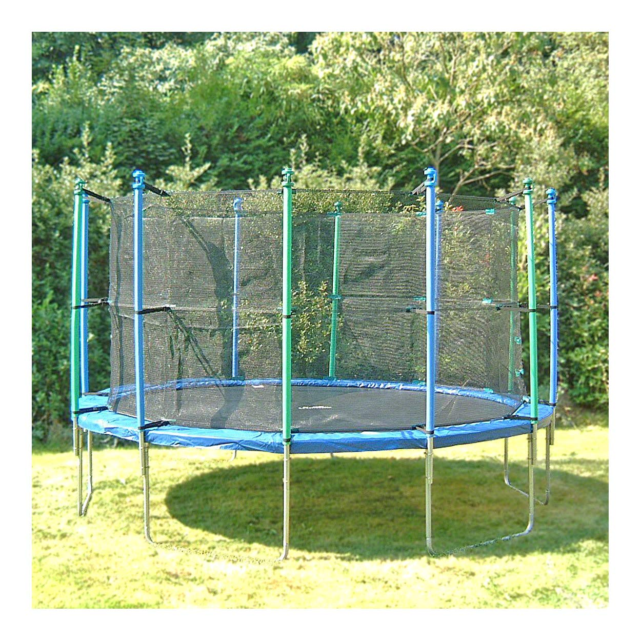 Trimilin Trampolin Fun 43 Outdoor Trampolin Gartentrampolin inkl Sicherheitsnetz
