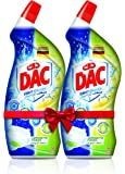 Dac Toilet Cleaner Lemon Power Twin Pack 750 ml