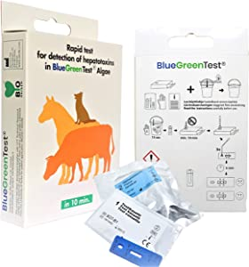 Blue Green Algae Water Test - Dog Safety at Home Lake Pond - Water Sample Results in 15 Minutes - Hiking Outdoor