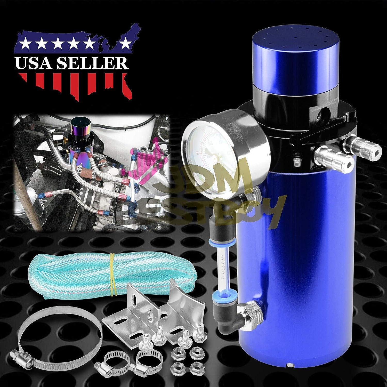 Billet Aluminio Motor depósito de aceite Catch Can tanque ...