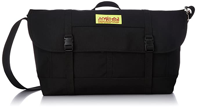 Amazon.com: Manhattan Portage Large NY Bike Messenger Bag (Black ...