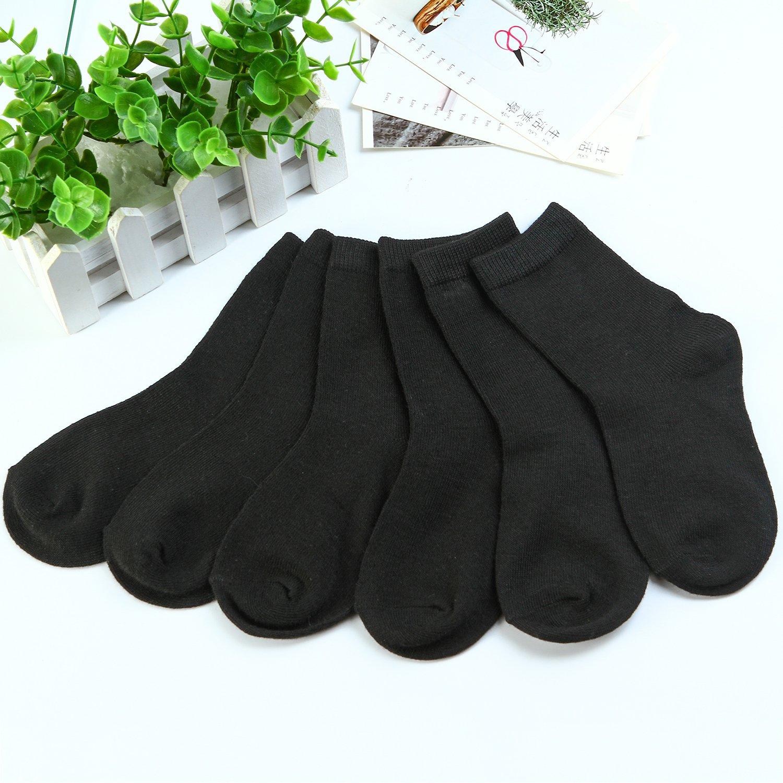Coobey 15 Pairs Toddler Kids Socks Boys Girls Short Breathable Socks