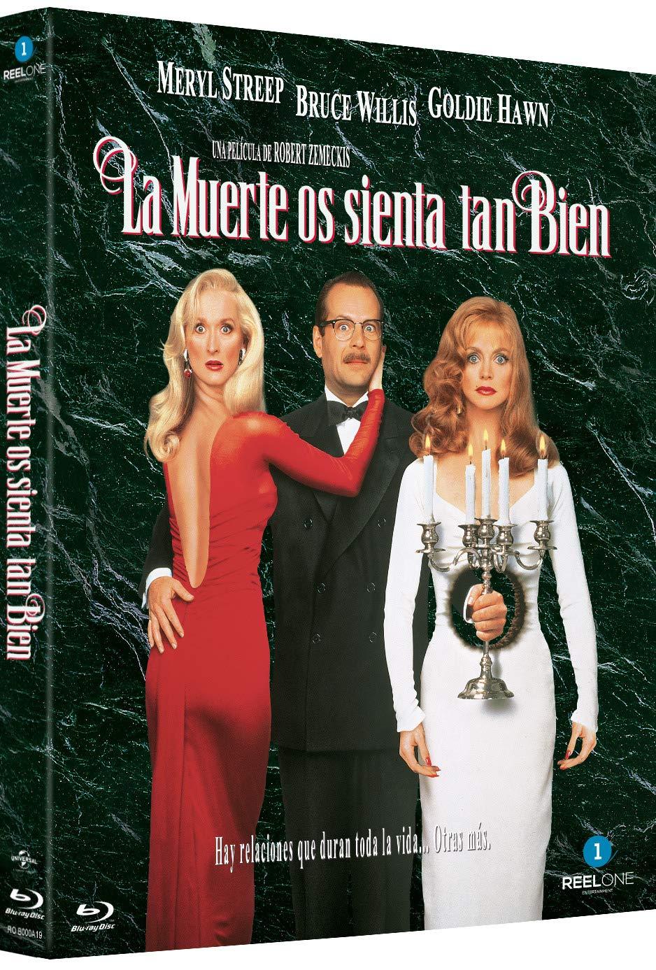 La muerte os sienta tan bien (Death becomes her) [Blu-ray]